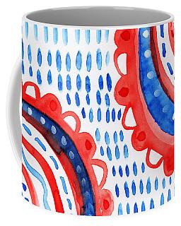 Americana Celebration 3- Painting Coffee Mug