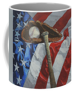 America's Game - Art By Bill Tomsa Coffee Mug