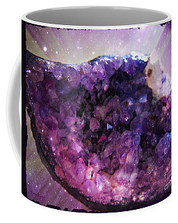 Amethyst  Coffee Mug by Leanne Seymour