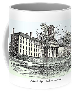 Amherst College - Chapel And Dormitories Coffee Mug