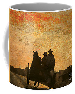 Amish After A Hard Days Work Coffee Mug