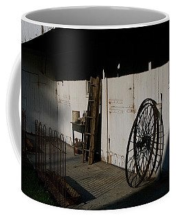 Amish Buggy Wheel Coffee Mug