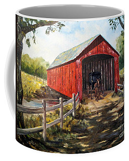 Amish Country Coffee Mug by Lee Piper