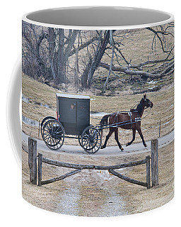 Amish Horse And Buggy March 2013 Coffee Mug