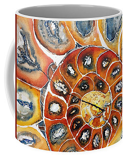Ammonite Fossil Shell Coffee Mug