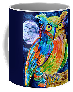 Ampersand Owl Coffee Mug by Beverley Harper Tinsley