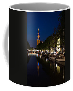 Amsterdam Blue Hour Coffee Mug by Georgia Mizuleva
