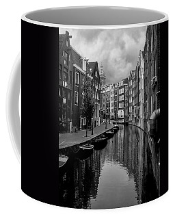 Amsterdam Canal Coffee Mug by Heather Applegate