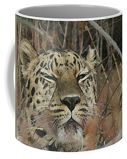 Amur Leopard 1 Coffee Mug