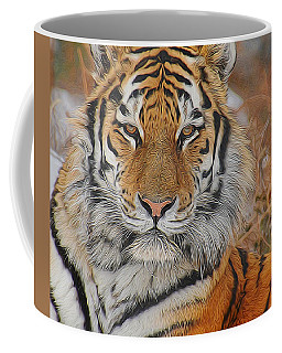 Amur Tiger Magnificence Coffee Mug