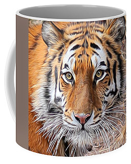 Amur Tiger Portrait Coffee Mug