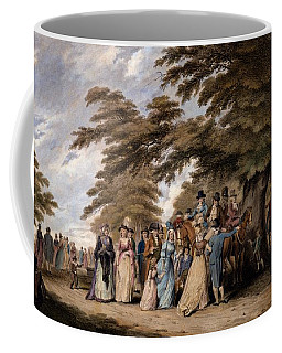 An Airing In Hyde Park, 1796 Coffee Mug