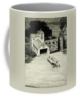 An Airplane Hangar Coffee Mug