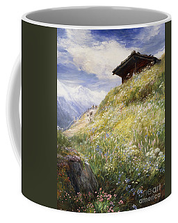 An Alpine Meadow Switzerland Coffee Mug