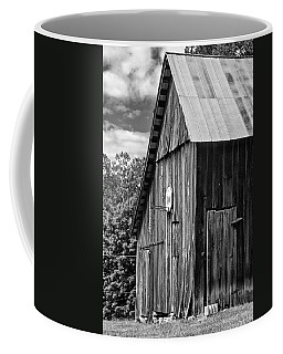 An American Barn Bw Coffee Mug