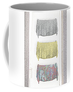 Coffee Mug featuring the digital art An American In Paris by David Blank