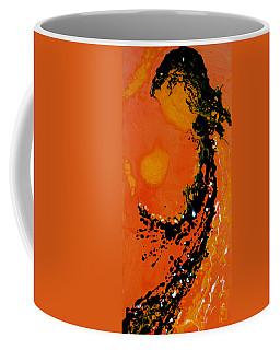 An Angel Breathing Love Into Life Coffee Mug