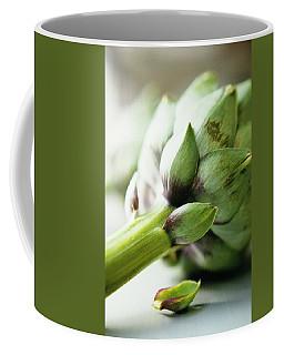 An Artichoke Coffee Mug
