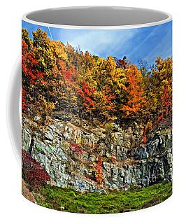 An Autumn Day Painted Coffee Mug