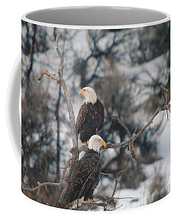 An Eagle Pair  Coffee Mug