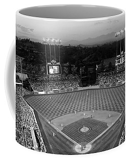 An Evening Game At Dodger Stadium Coffee Mug