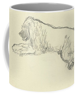 An Illustration Of A Dog Coffee Mug