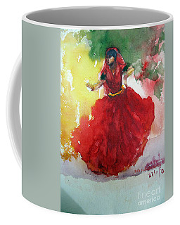An Indian Dancer Coffee Mug