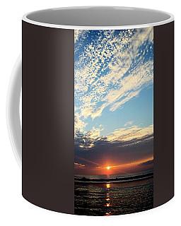 An Ocean And A Sunrise Coffee Mug