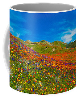 An Ocean Of Orange  Coffee Mug
