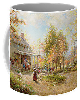 An October Day Coffee Mug