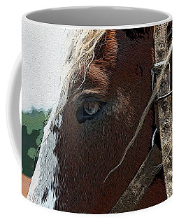 An Old Friend Coffee Mug by Yvonne Wright
