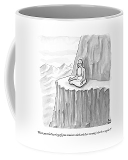 An Old Man Gives Metaphysical Advice Coffee Mug