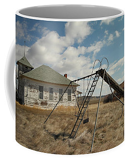 An Old School Near Miles City Montana Coffee Mug