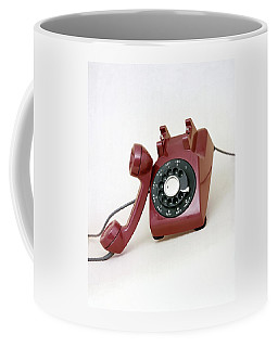 An Old Telephone Coffee Mug