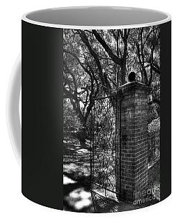 An Open Gate 2 Bw Coffee Mug