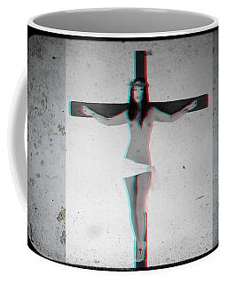 Anaglyph Asian Female Jesus Coffee Mug