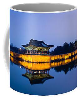 Anapji Pond At Dusk Coffee Mug