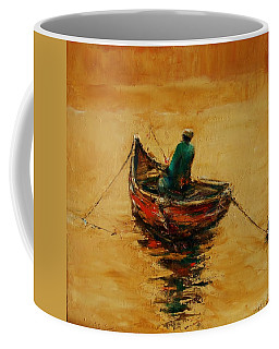 Anchored Coffee Mug by Jean Cormier