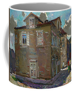 Ancient House In Perast Coffee Mug