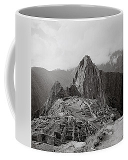 Ancient Machu Picchu Coffee Mug by Shaun Higson