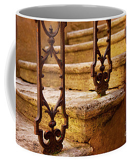 Coffee Mug featuring the photograph Ancient Steps by Brian Jannsen