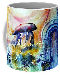 Coffee Mug featuring the painting  Ancient Stones Of Ireland No 2.  by Trudi Doyle