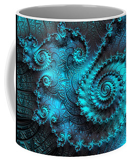 Ancient Verdigris -- Triptych 2 Of 3 Coffee Mug