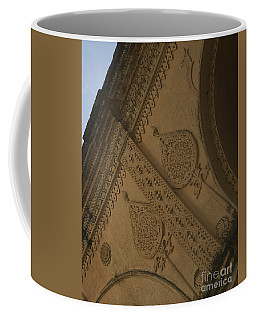 Coffee Mug featuring the photograph Ancient Wall by Mini Arora