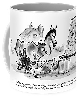 And So, Extrapolating From The Best Figures Coffee Mug