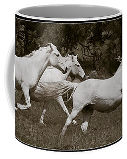 Coffee Mug featuring the photograph And The Race Is On D5932 by Wes and Dotty Weber
