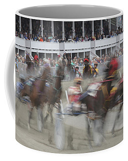 And They Are Off Coffee Mug
