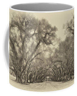 And Time Stood Still Sepia Coffee Mug