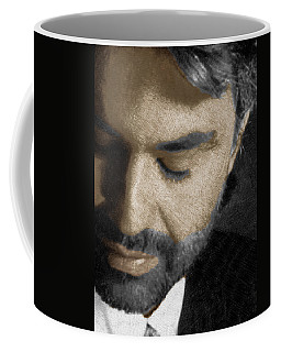 Andrea Bocelli And Vertical Coffee Mug
