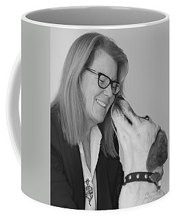 Andrew And Andree Bw Coffee Mug